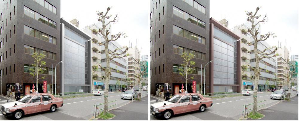 企業本社オフィスビル本社建物-00-外観デザインパースB