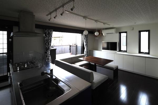 横浜妙蓮寺兄弟二世帯住宅08-3階建LDKバルコニー-