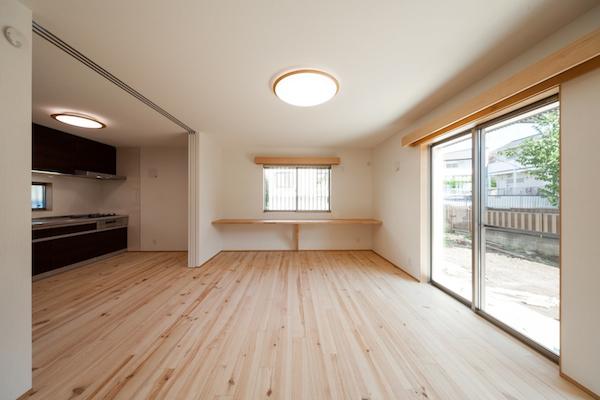 横浜西谷の二世帯住宅11-リビング-