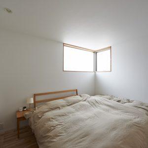 寝室 北側の窓