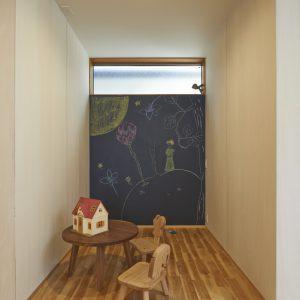 黒板塗装,子供部屋