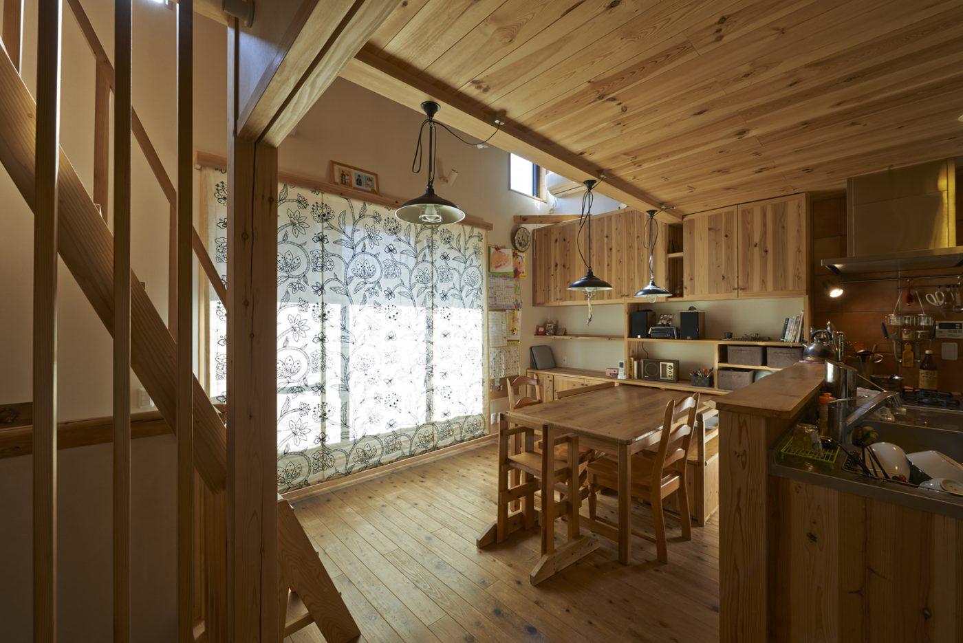 下板橋の家 リビング