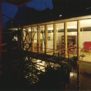 瓜破-うりわり-の家~バリアフリーの家