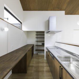 瓜破の家 キッチン