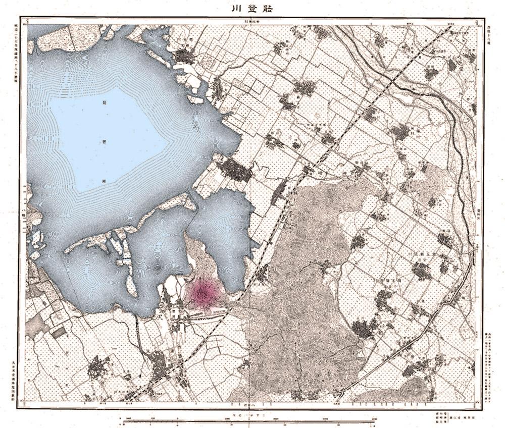 明治26年地形図
