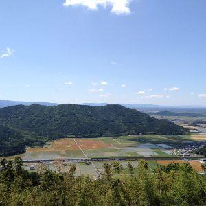 観音寺城から箕作山