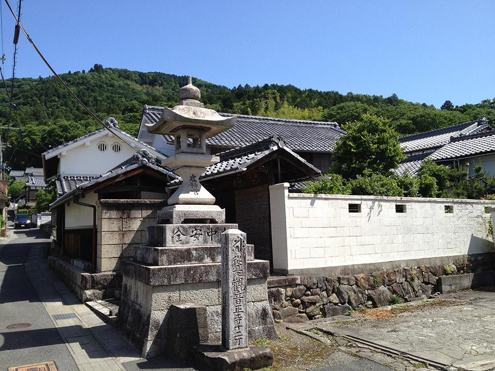 観音寺城下