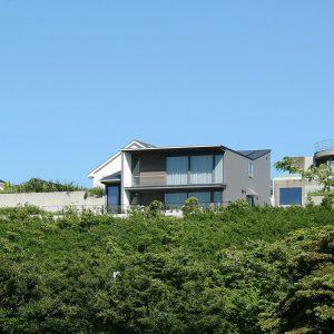 眺望を楽しむ 「葉山の週末住宅」