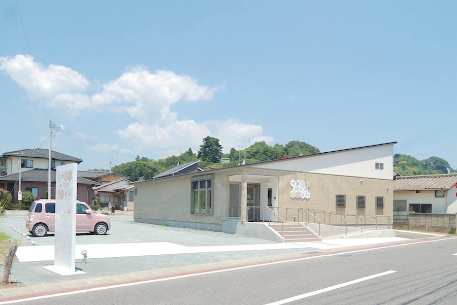 歯科医院併用住宅平屋外観