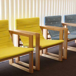 吉村順三設計たためる椅子