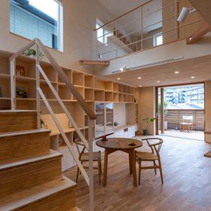 2つのテラスをもつ家【眺望テラスと物干しテラスが快適なZEH住宅】
