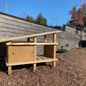 チャボさんの家 【ペットの小屋をデザイン/カフェの看板鳥の居場所】