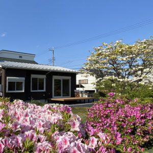 南庭を楽しむ平屋 【趣味のガーデニングを楽しむコンパクトハウス】